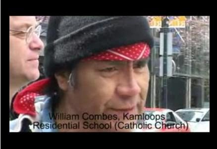 Rev. Kevin Annett - Genocide of Canadian aboriginals at 25 million; 50,000  children now missing; Key witness William Coombes assassinated by Crown and  Vatican agents