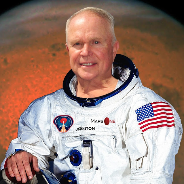CIVILIAN ASTRONAUT CONSULTANT KEN JOHNSTON